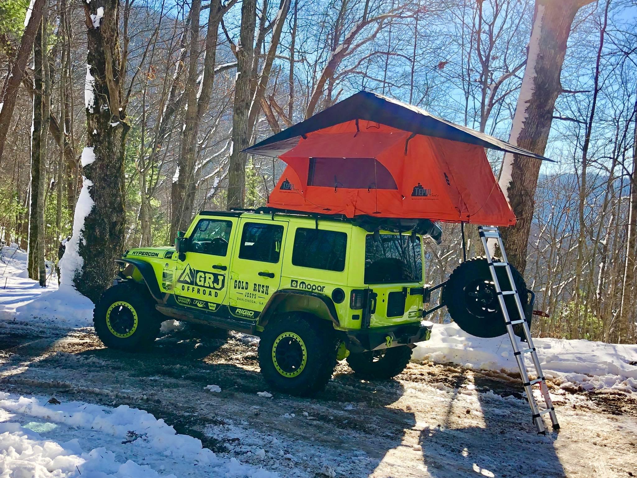 Jeep Jk Teraflex Roof Rack Amp Tepui Tent Installation Grj